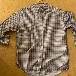 Blue Tommy Hilfiger Button Down